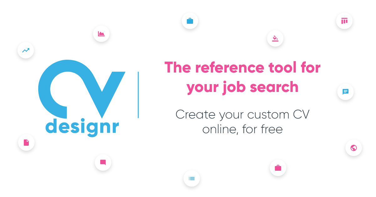 Create My Own Cv Design In Pdf For Free With Cvdesignr